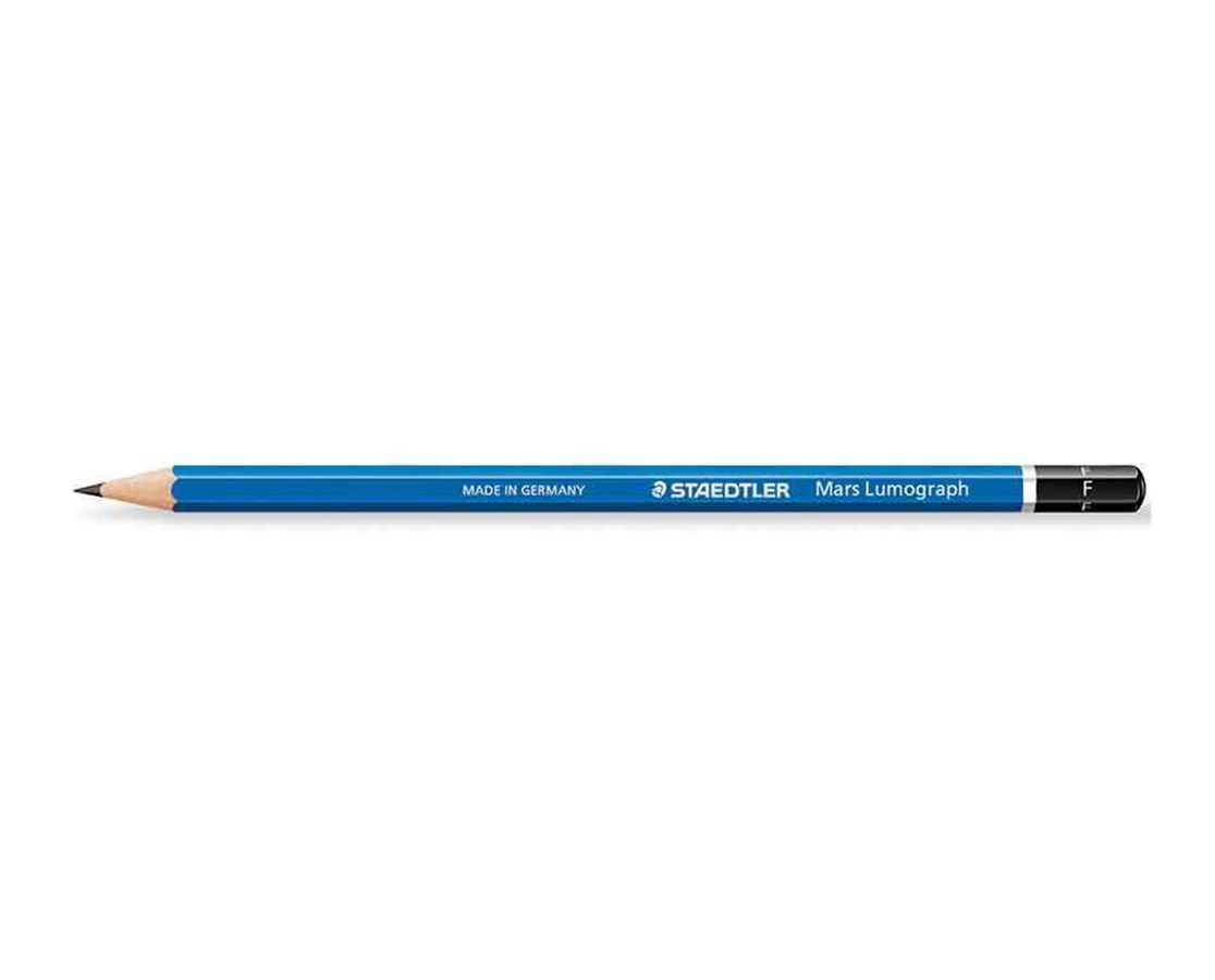LUMOGRAPH DRAWING PENCIL F 100-F