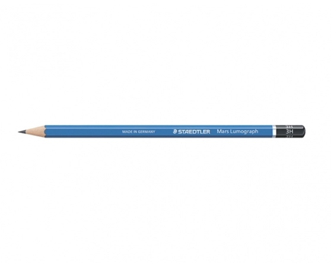 LUMOGRAPH DRAWING PENCIL H 100-H