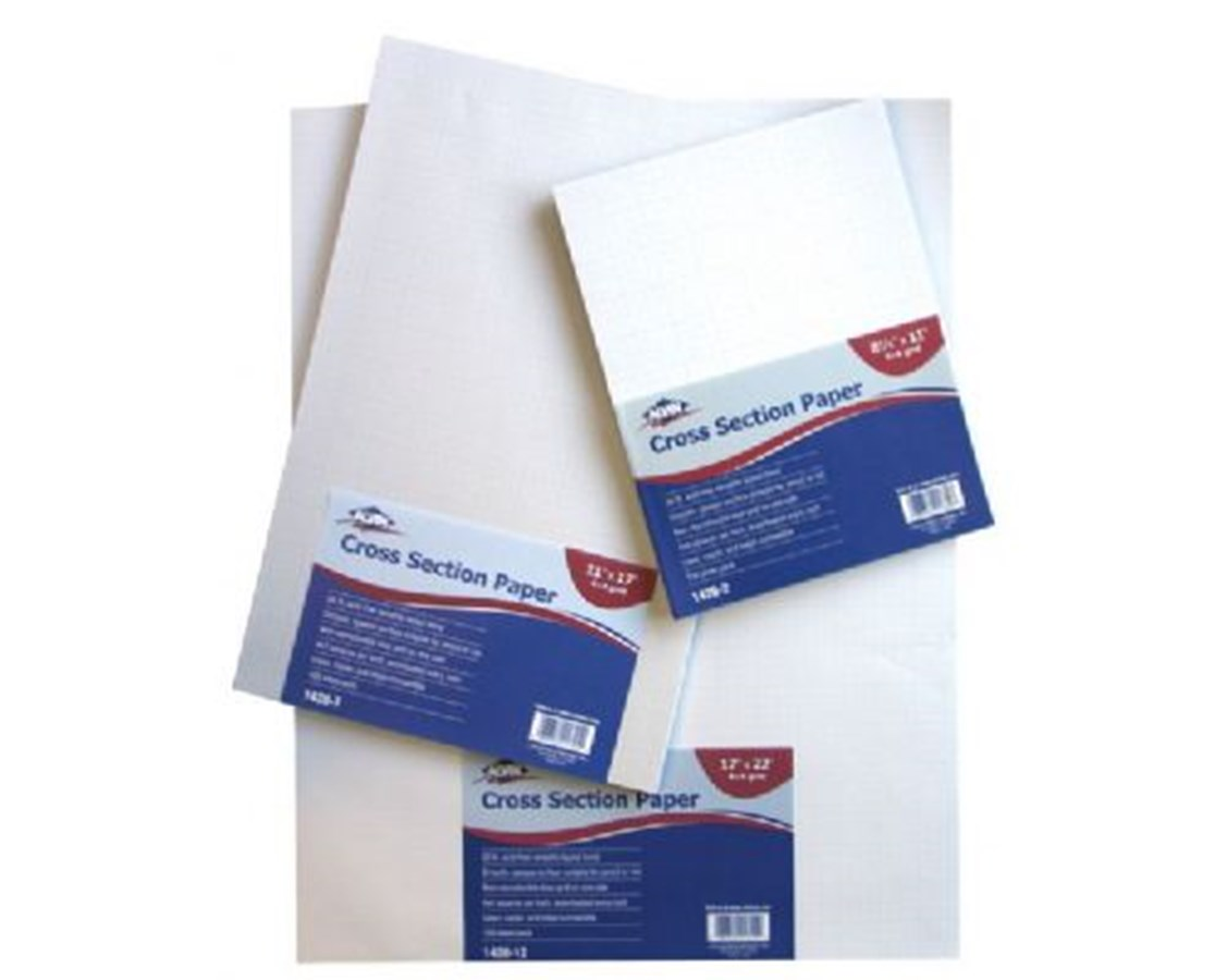 Croos Section Drawing Paper 4 x 4 100 Sheet Package 1420-20