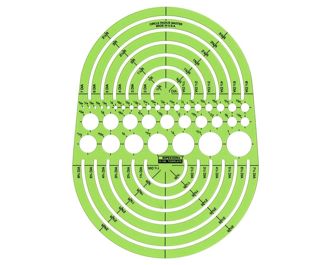 Circle Radius Master 142R