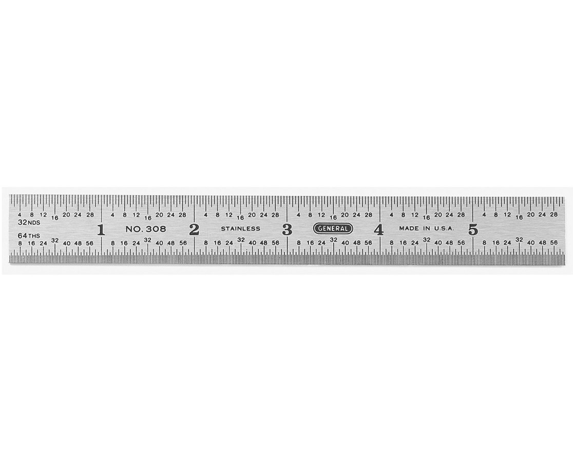Alvin Ruler Std Stainless Steel 6in 1506 Tiger Supplies