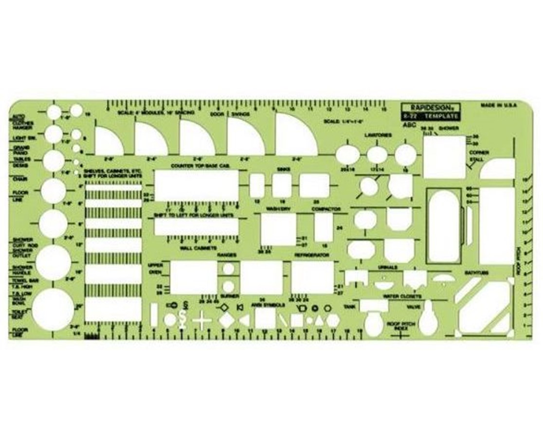 House Plan Fixtures 22R
