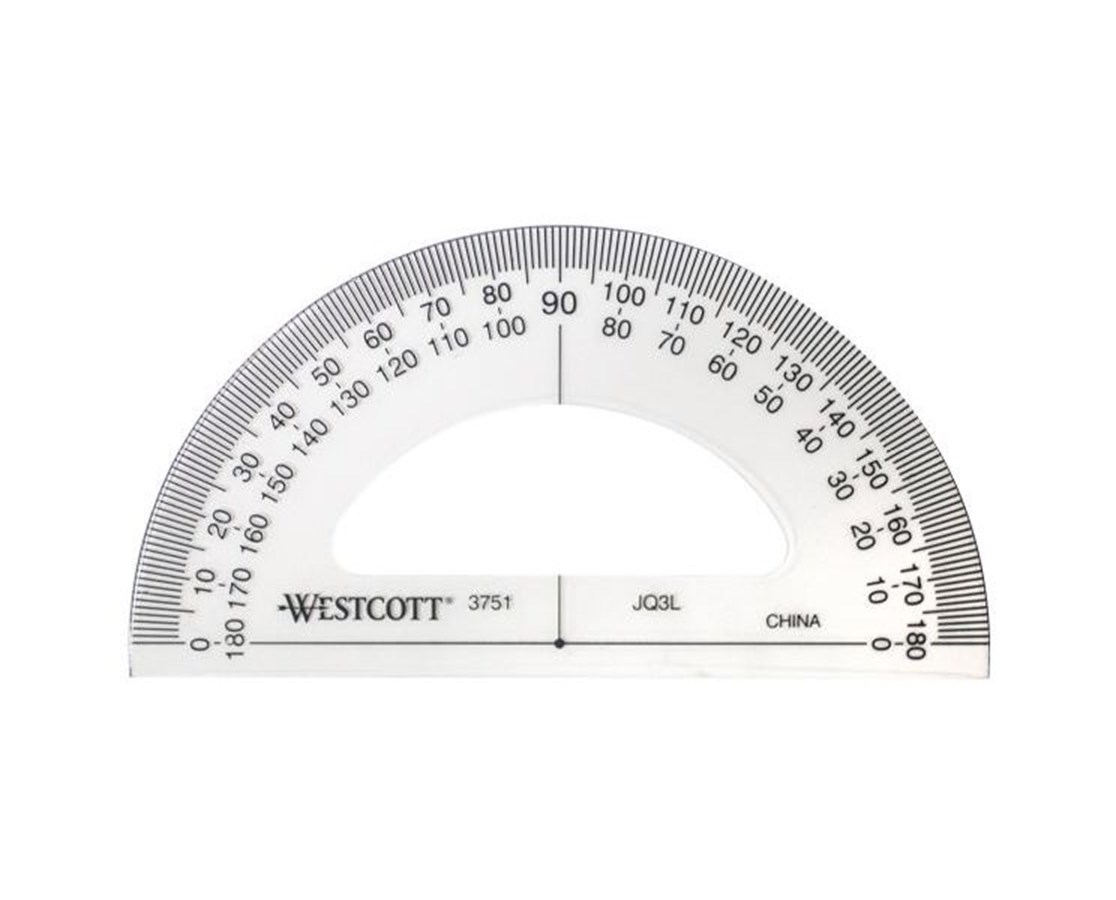 PROTRACTOR 3 1/2 INCH STUDENT 3751
