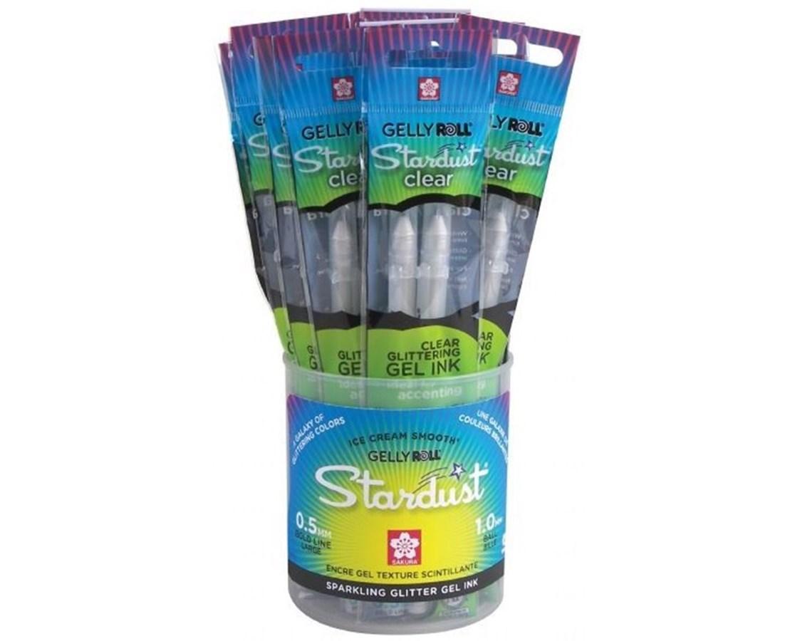 STARDUST CLEAR GLITTR PEN PK/2 37906