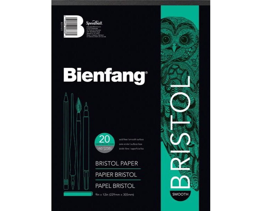 White Drawing Bristol Board Smooth Finish 20 sheet 528P-1210