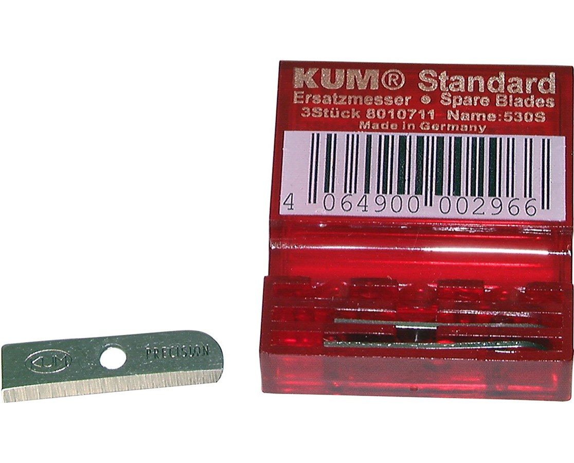 REPL BLADES FOR KUM SHRPNR 3pk 530S