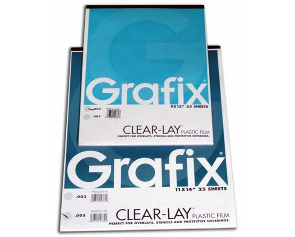 THE ECONOMIC ALTERNATIVE TO ACETATE CLEARLAY FILM .005 6302-5