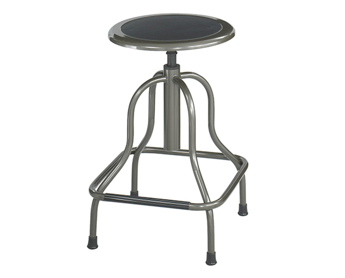 """Safco Diesel Industrial Stool Hige base 16 1/4"""" d x 22 1/2"""" to 29""""h 6665"""