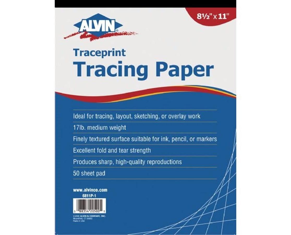 ALVIN ® Traceprint Tracing Paper 6811P-13