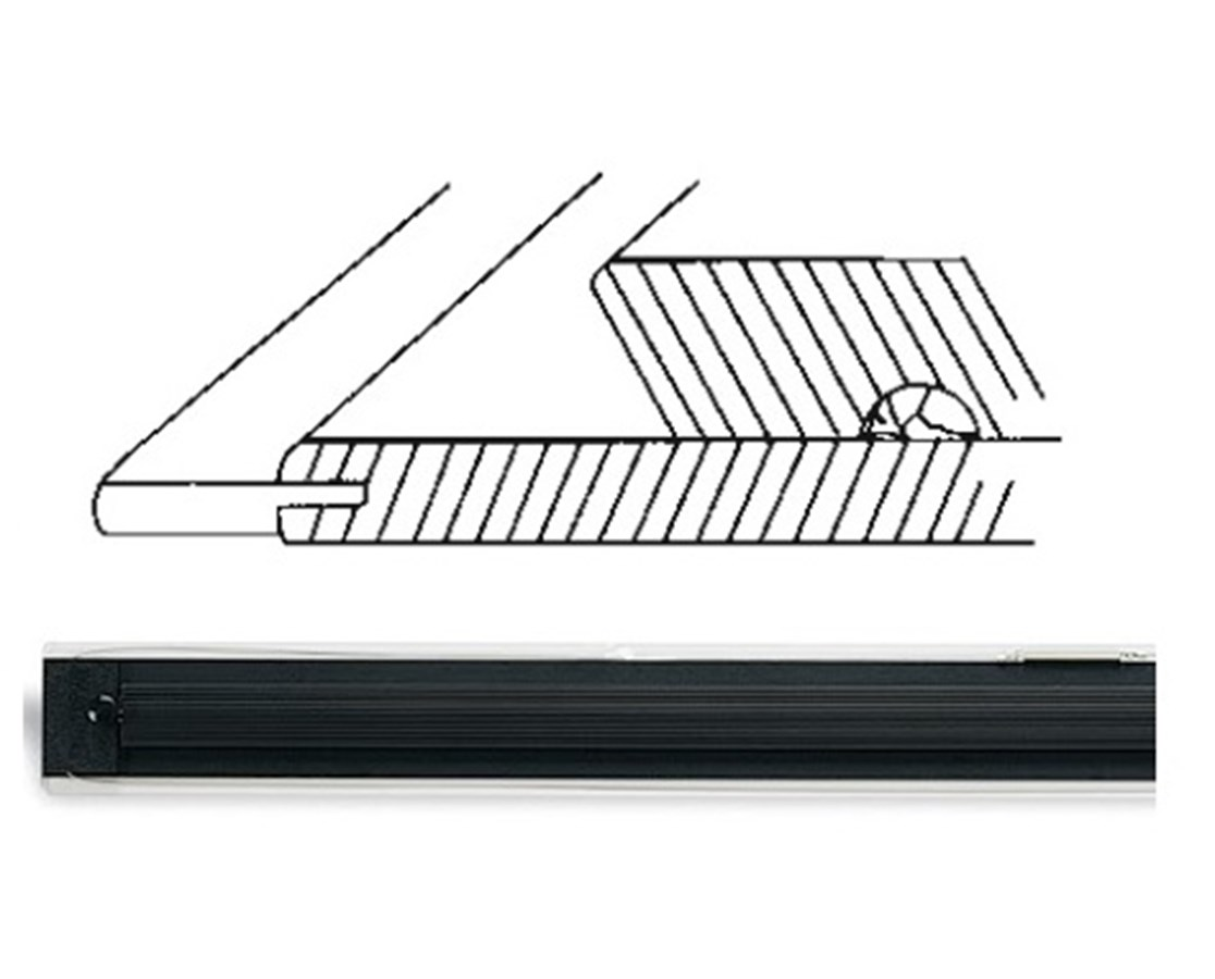 MAYLINE Mobile Parallel Ruling Straightedges 7262A