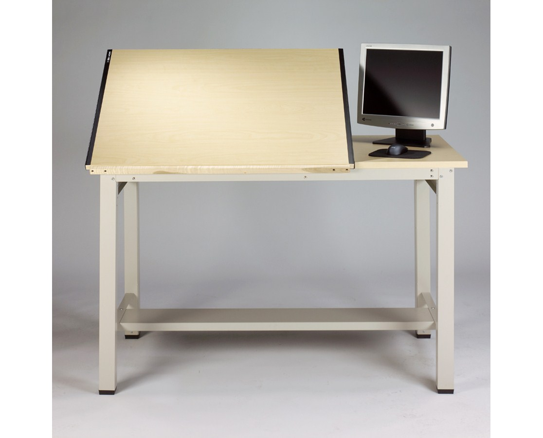 Mayline Ranger Split top Steel Drawing Table 7772