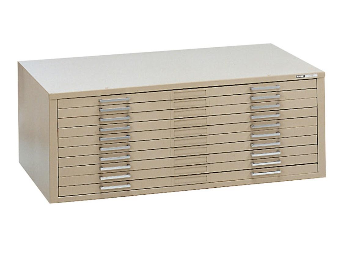 Mayline C File 10 Drawer Steel Flat File 30 x 42 7978C