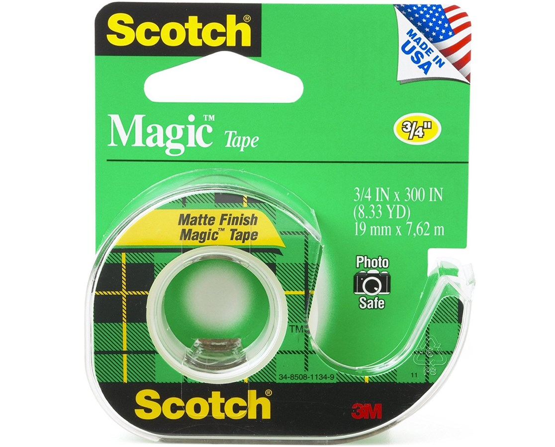 SCOTCH MAGIC TAPE 3/4 x 36 yds 810