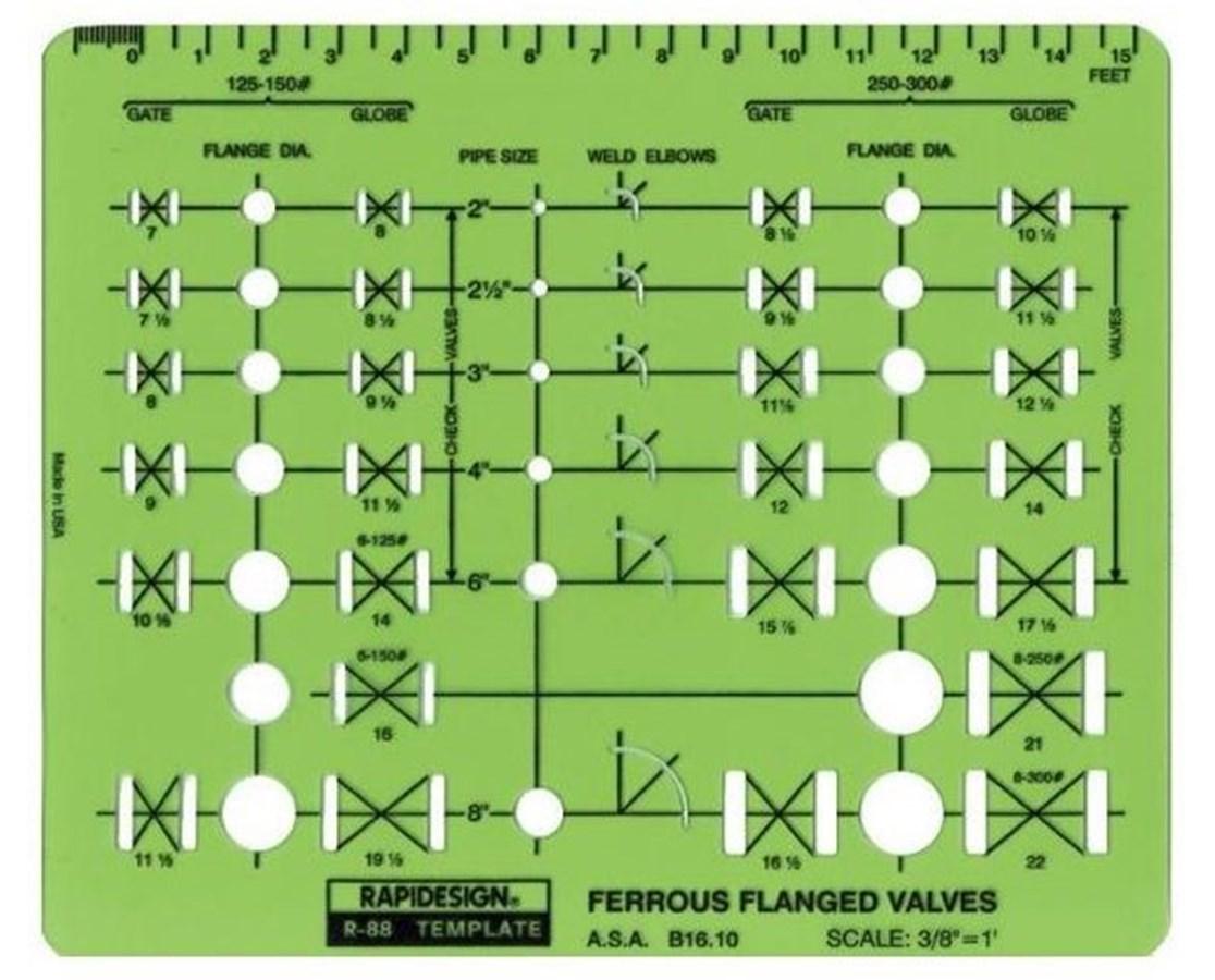 Ferrous Flanged Valves 88R