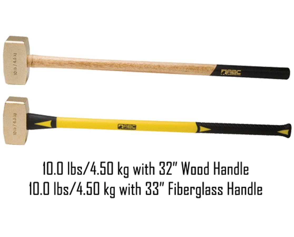 10 lb Brass Hammer ABC10B