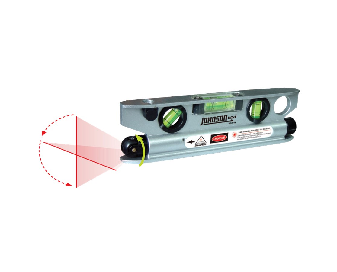 Johnson Magnetic Laser Level with Base 40-6164