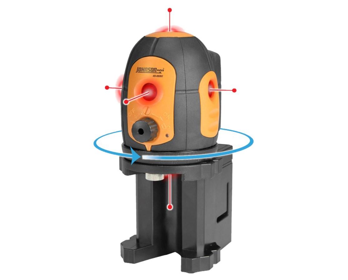 AccuLine Pro 5-Beam Laser Pointer 40-6680