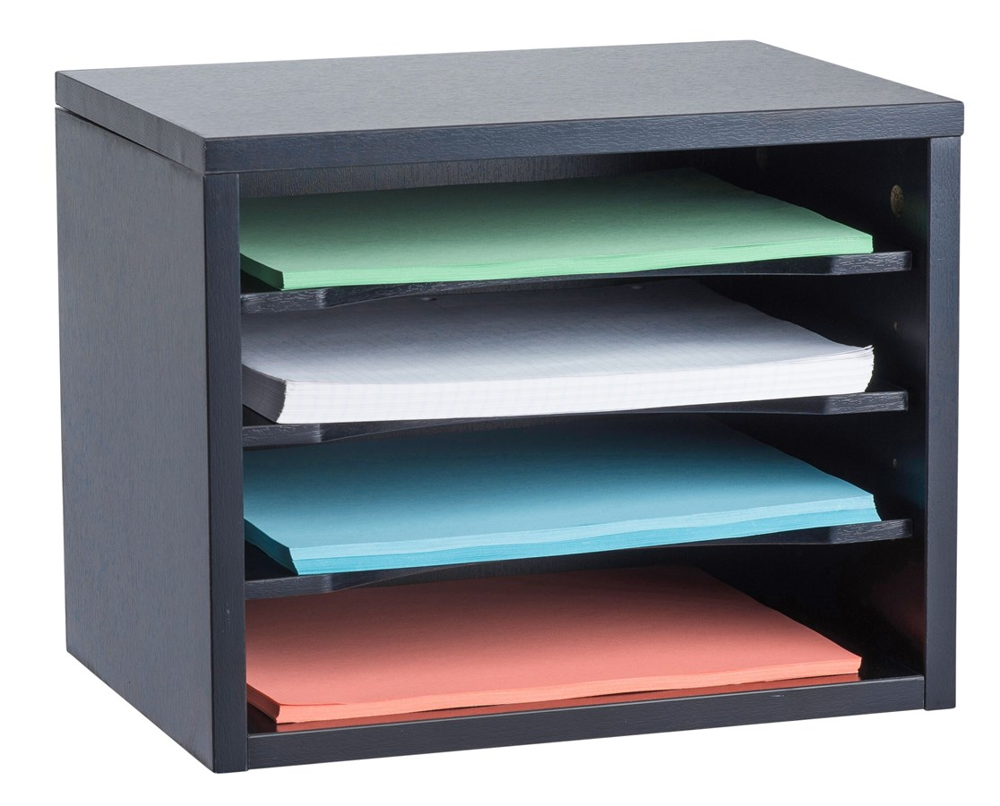 Desk Organizer Adiroffice Stackable Desk Organizer With Curved Edge Removable