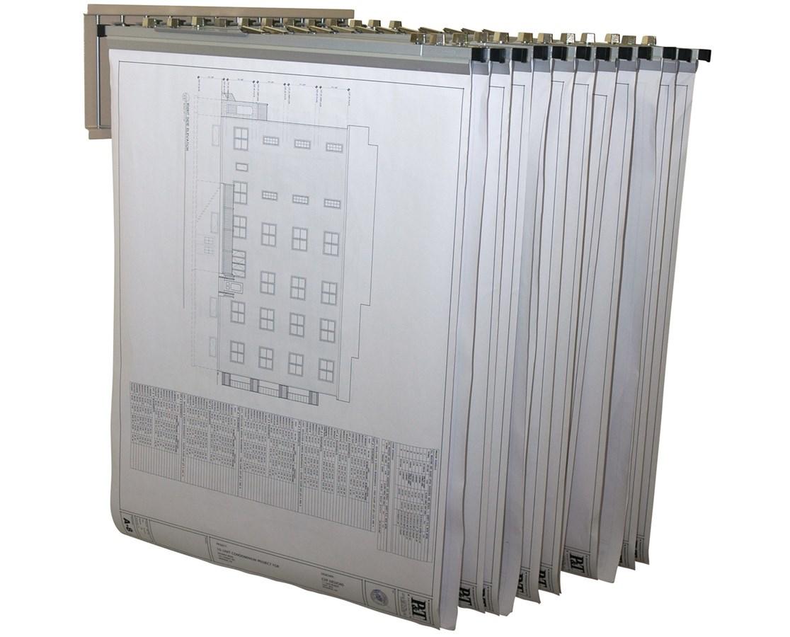 Adir Pivot Wall Rack with Hangers ADI617-