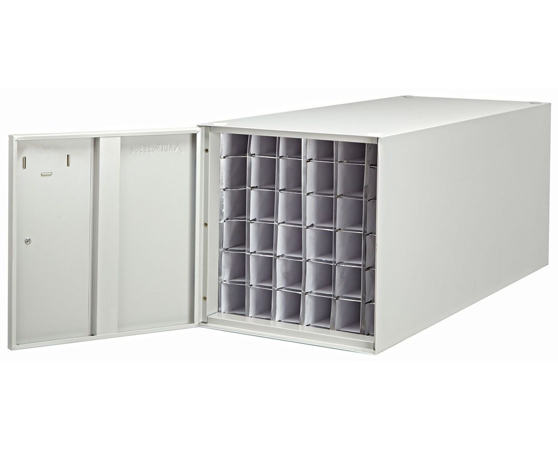 Adir 38in Stackable Steel Roll File 36 Compartment 630