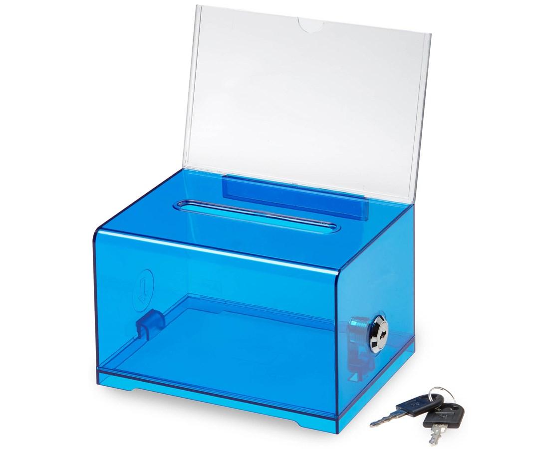 Acrylic Donation & Ballot Box ADI637