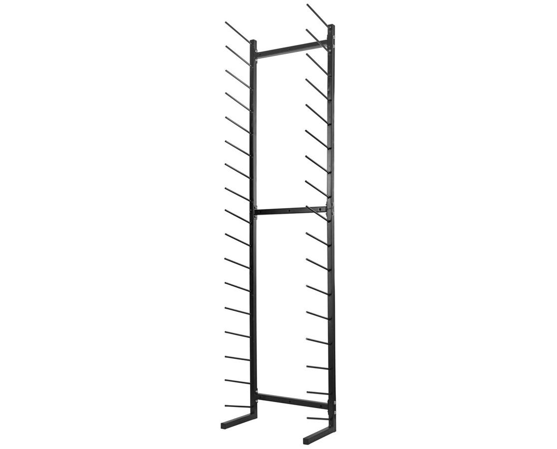 AdirOffice Standing Blueprint Storage Steel Rack ADI692-01-BLK-
