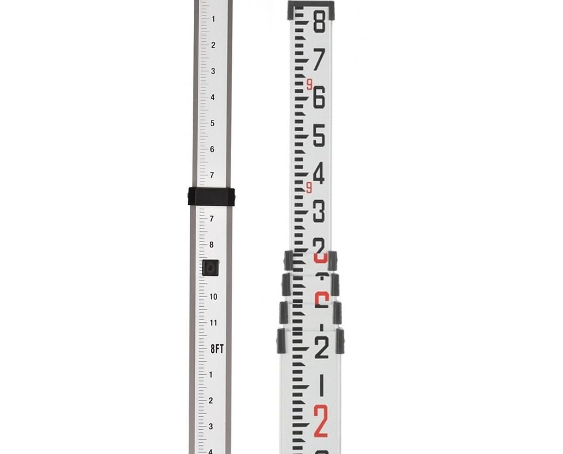 AdirPro 16 Foot Aluminum Grade Rod ADI710-12-