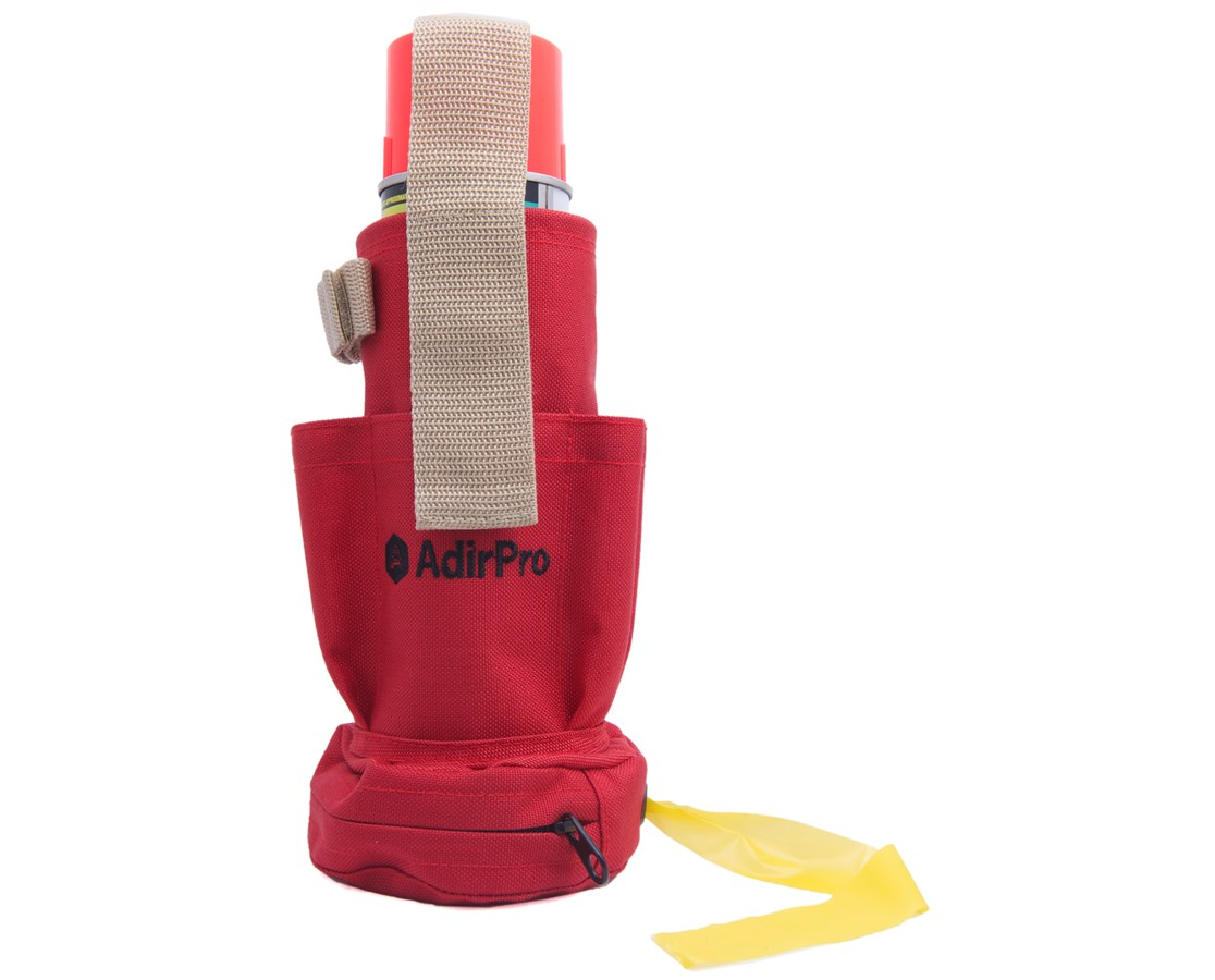 AdirCorp Spray Can Holder and Flag Tape Dispenser
