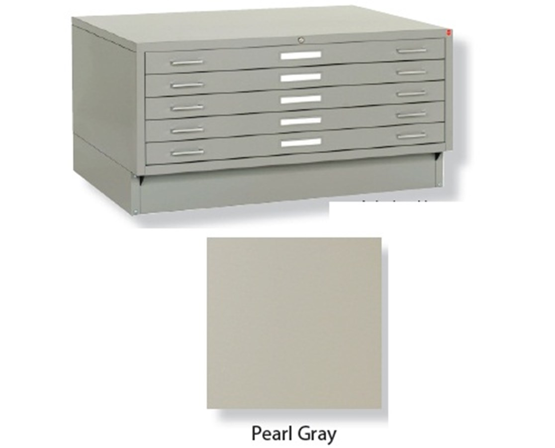 Archive Designs Stacor 5 Drawer Steel Flat File 30x42 Inch STA46