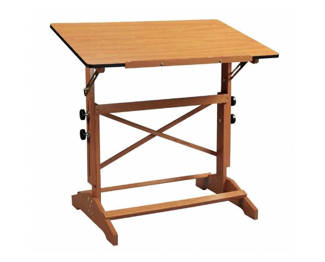 Alvin Pavillon Cherry Wood Drafting Table AP436-WBR
