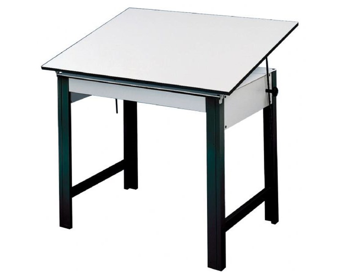 Alvin DesignMaster Black Base Drafting Table DM60ND-BK