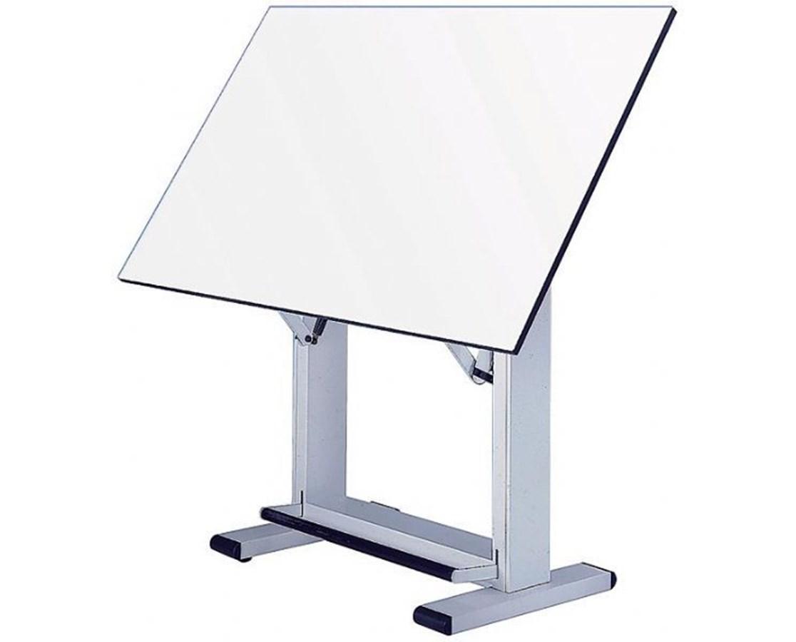 Alvin Elite White Base Drafting Table ET48-4