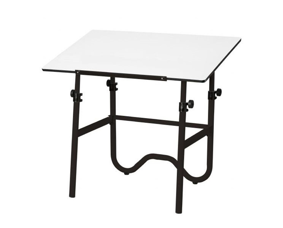 Alvin Onyx Black Base Drafting Table ONX36-3