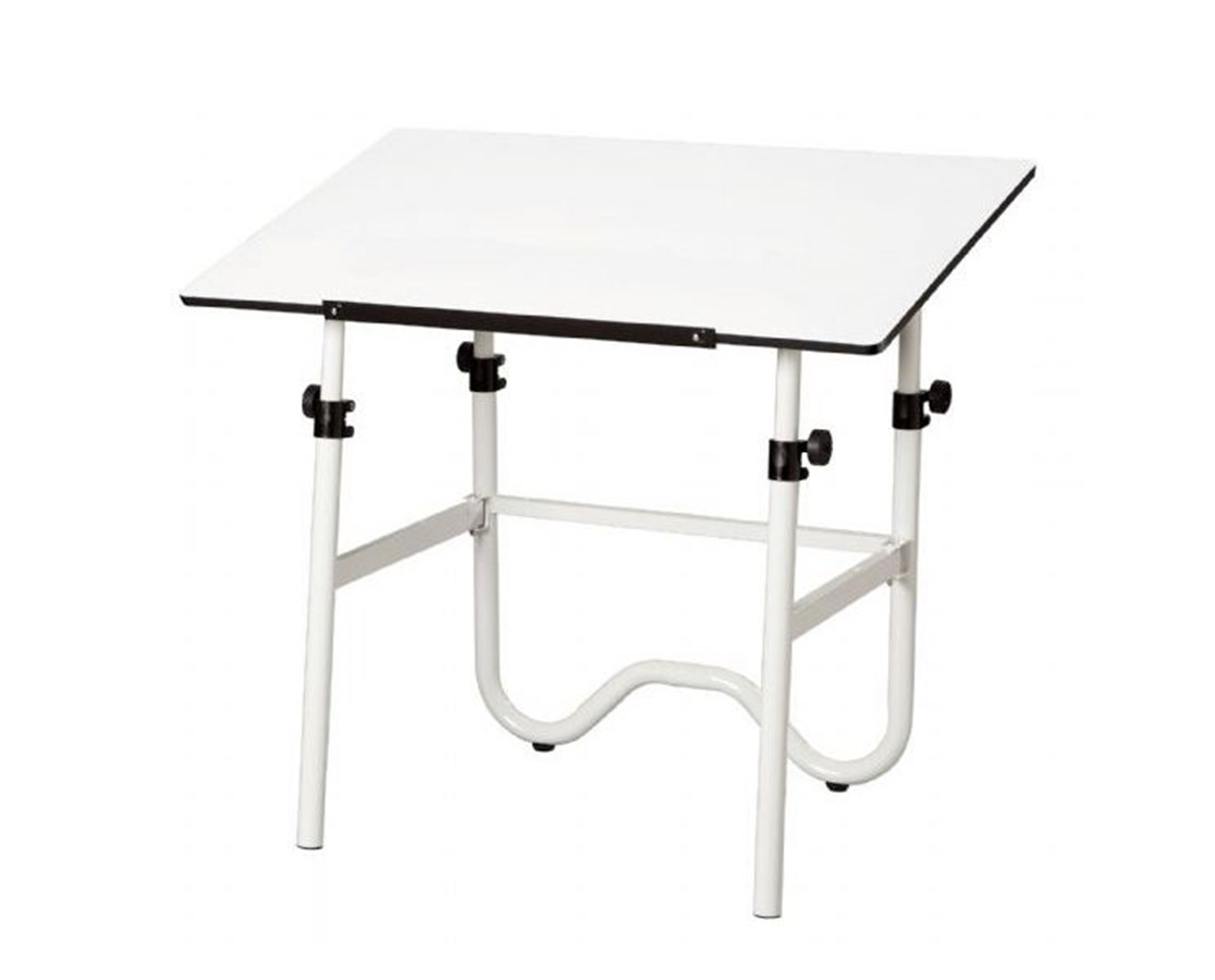 Alvin Onyx White Base Drafting Table ONX36-4