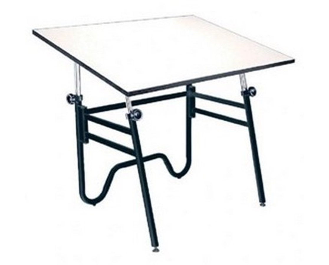 Alvin Opal Black Base Drafting Table OP36-3