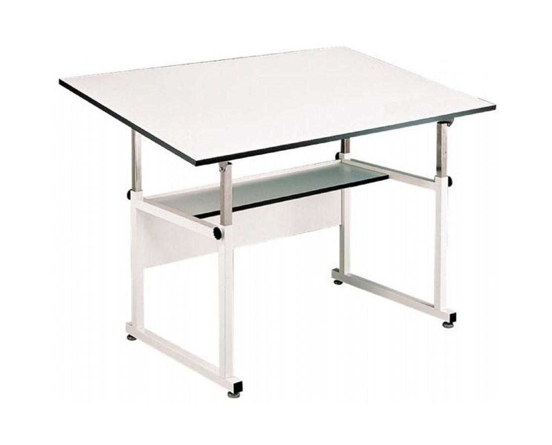 Alvin WorkMaster White Base Drafting Table WM48-4-XB