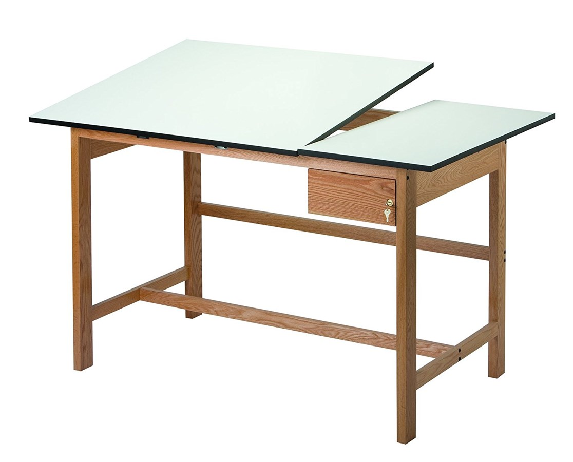 Split Drafting Table Alvin Craftmaster Iii Top