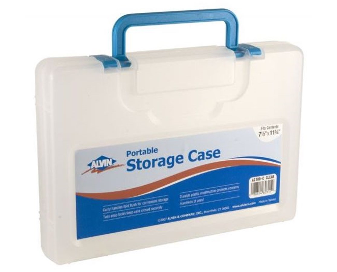 ALVIN® Portable Storage Cases SMALL PLAS CASE w/HANDLE ALVAC100