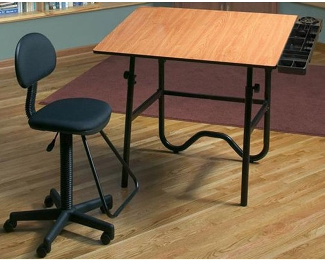 Alvin Creative Center Drafting Table and Chair CC2005EBWR