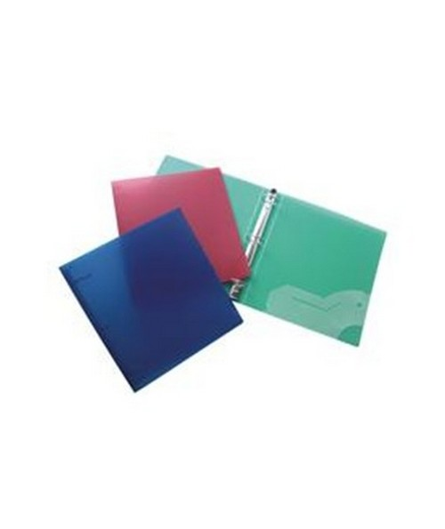3 RING NOTEBOOK BINDER 1in 12PC FAE64920