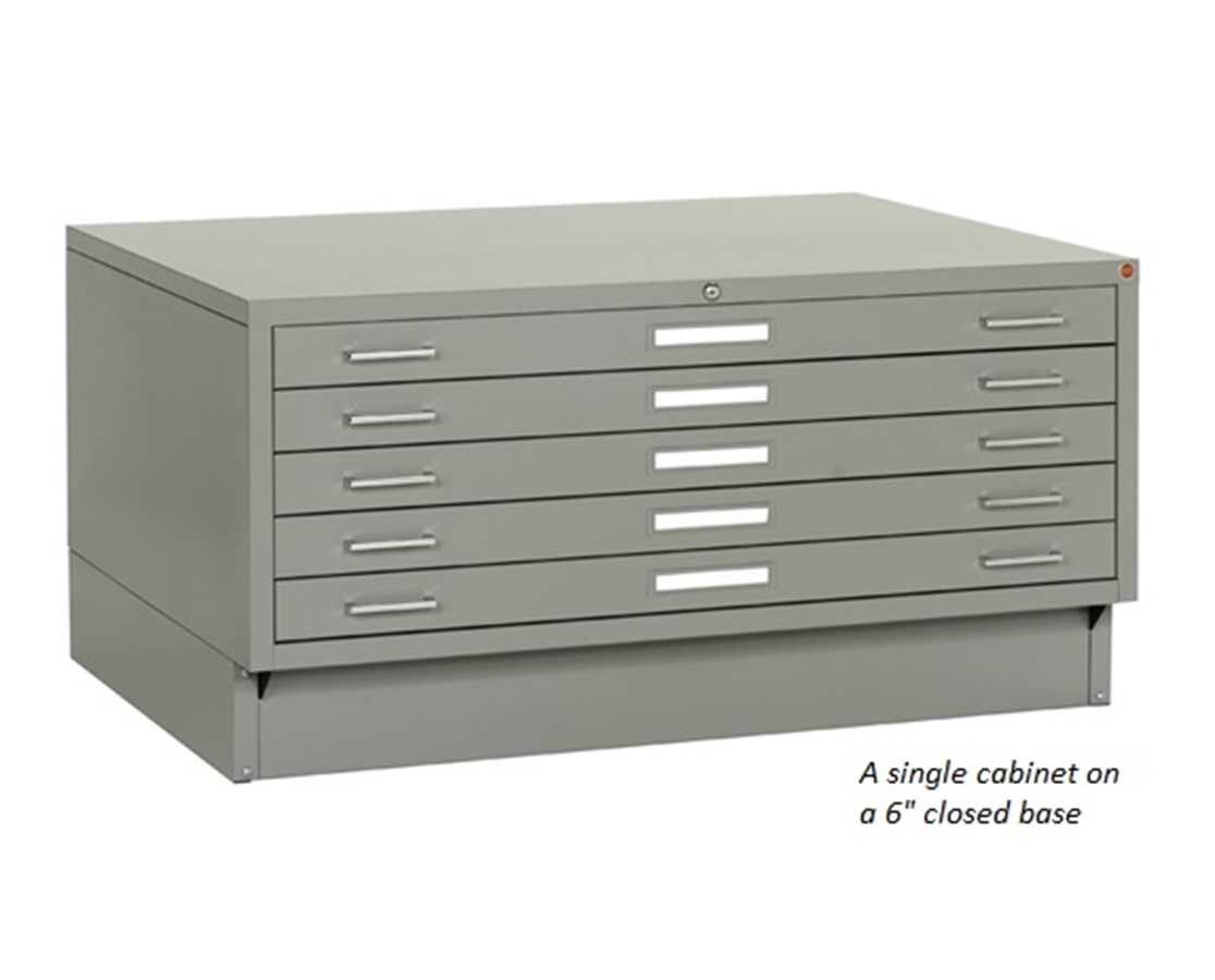 Archive Designs Stacor 5 Drawer Steel Flat File 36x48 STA53