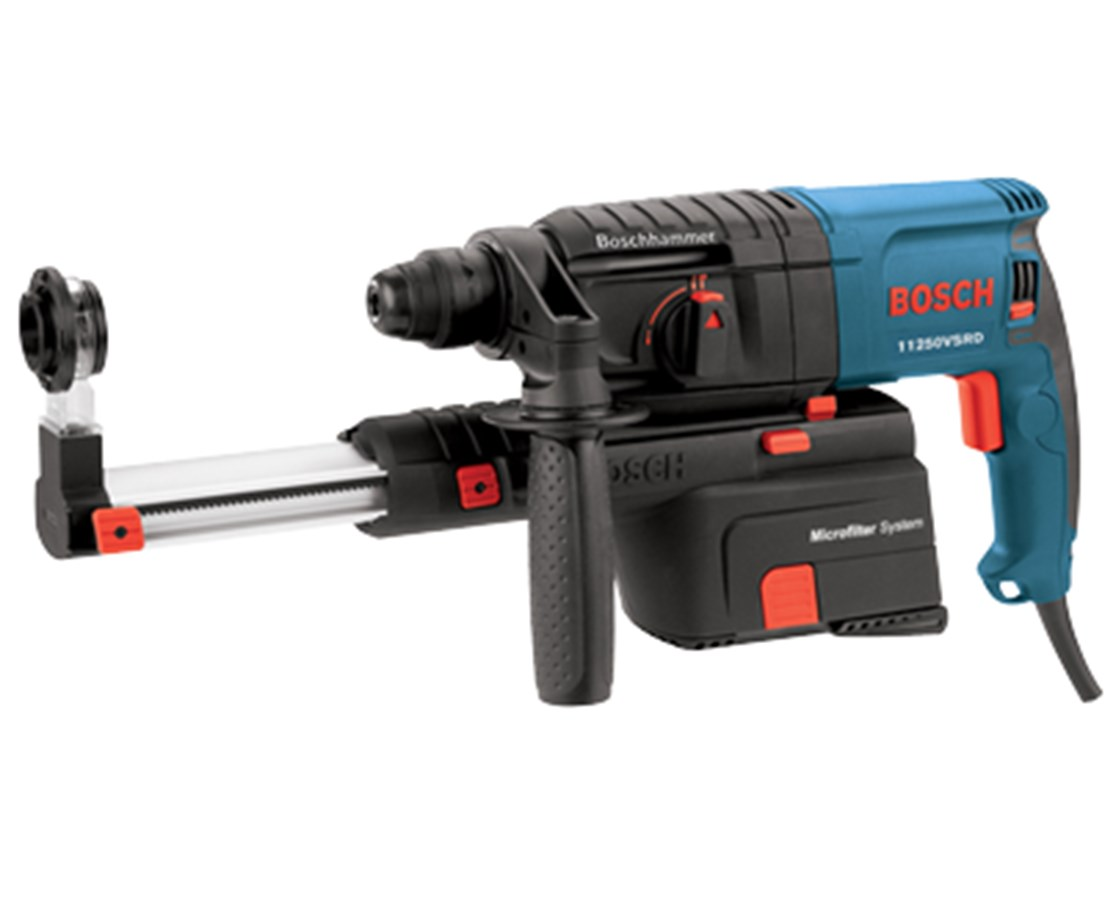 "Bosch  11250VSRD 3/4"" SDS-plus Bulldog Rotary Hammer w/ Dust Collection BOS11250VSRD"