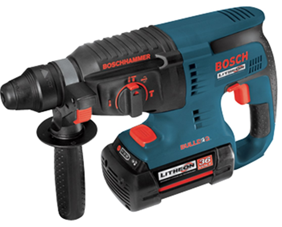 bosch 11536vsr 36v 1in cordless sds plus rotary hammer tiger supplies. Black Bedroom Furniture Sets. Home Design Ideas