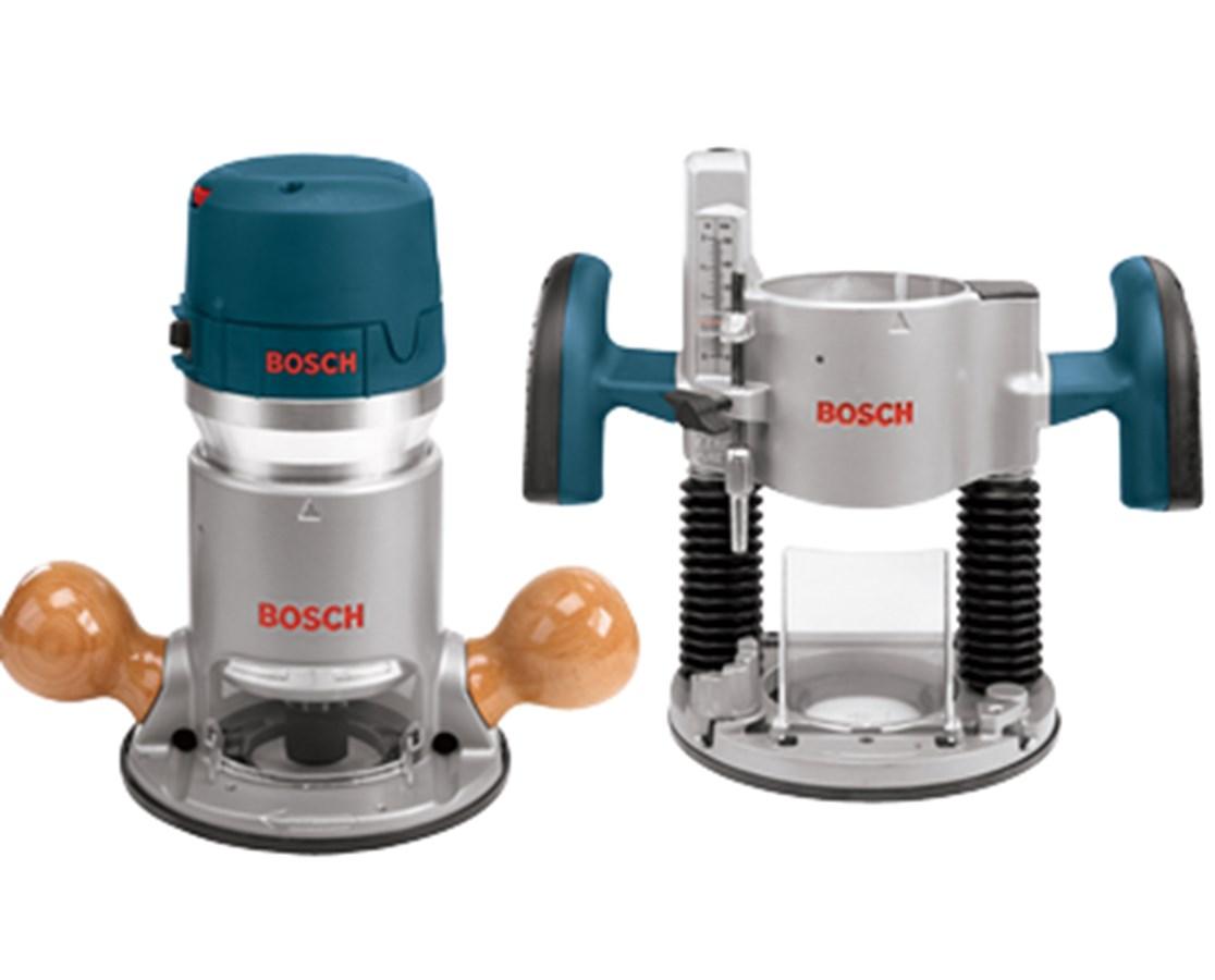 Bosch 1617EVSPK 2.25 HP Combination Plunge & Fixed-Base Router Pack BOS1617EVSPK