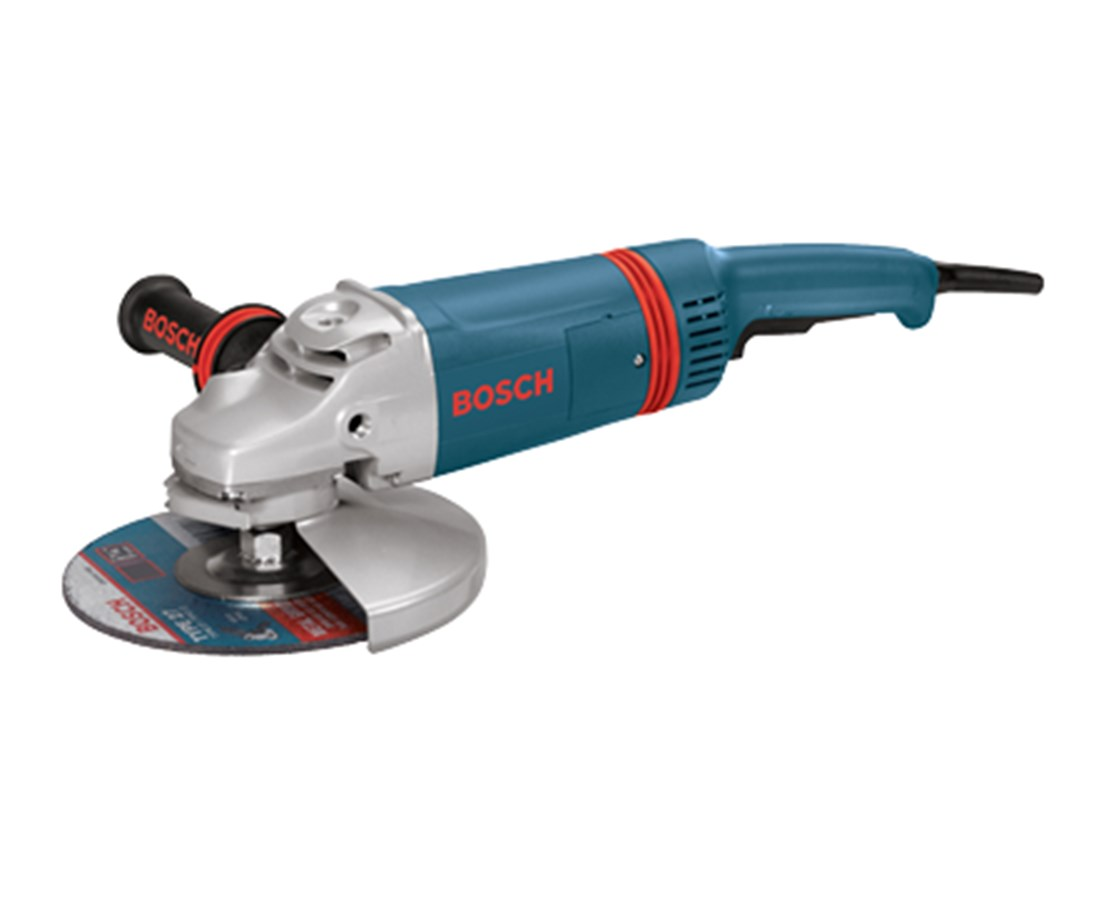 "Bosch 1873-8 7"" 8,500 RPM Large Angle Grinder with Rat Tail Handle BOS1873-8"