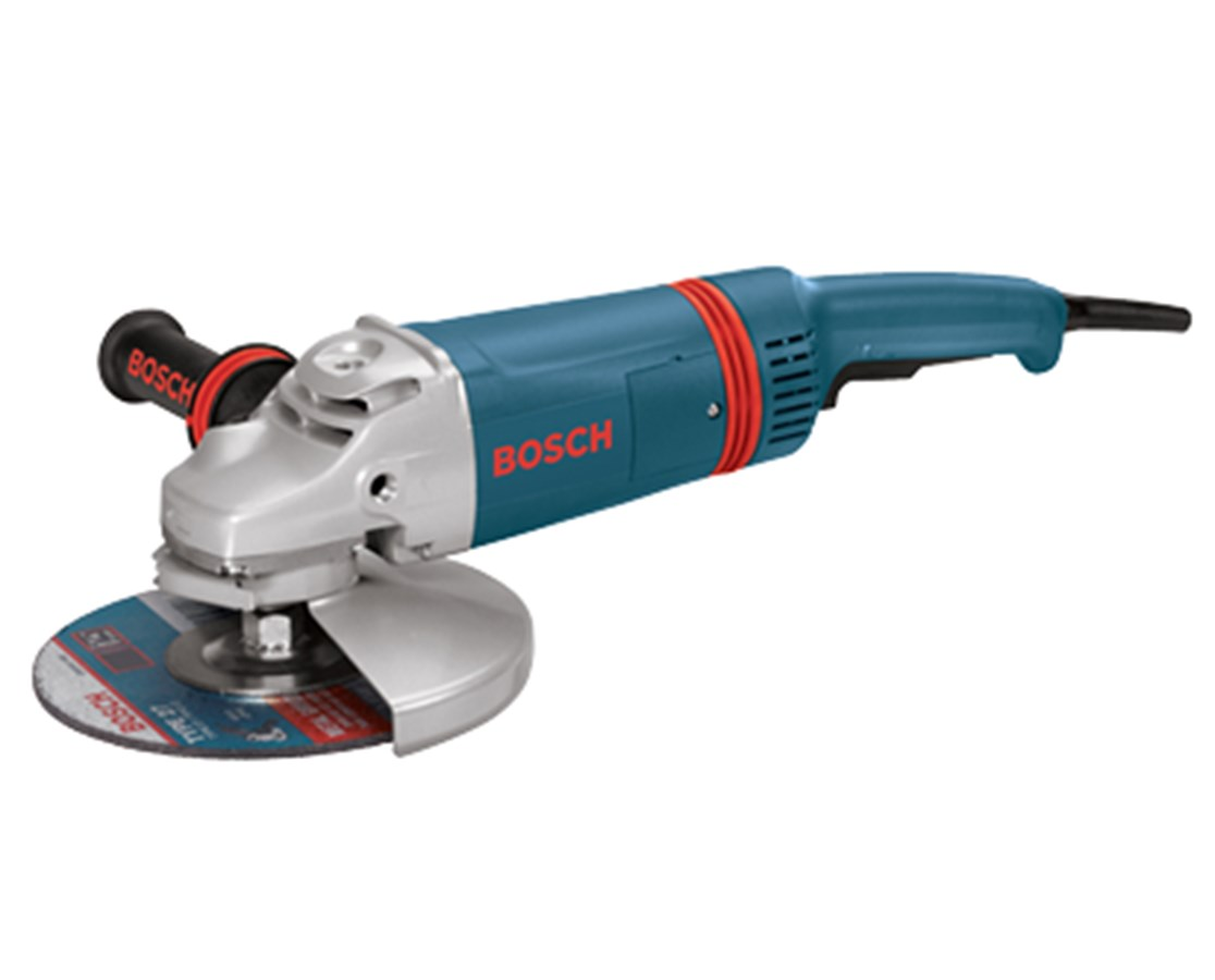 "Bosch 1893-6  9"" 6,000 RPM Large Angle Grinder with Rat Tail Handle BOS1893-6"
