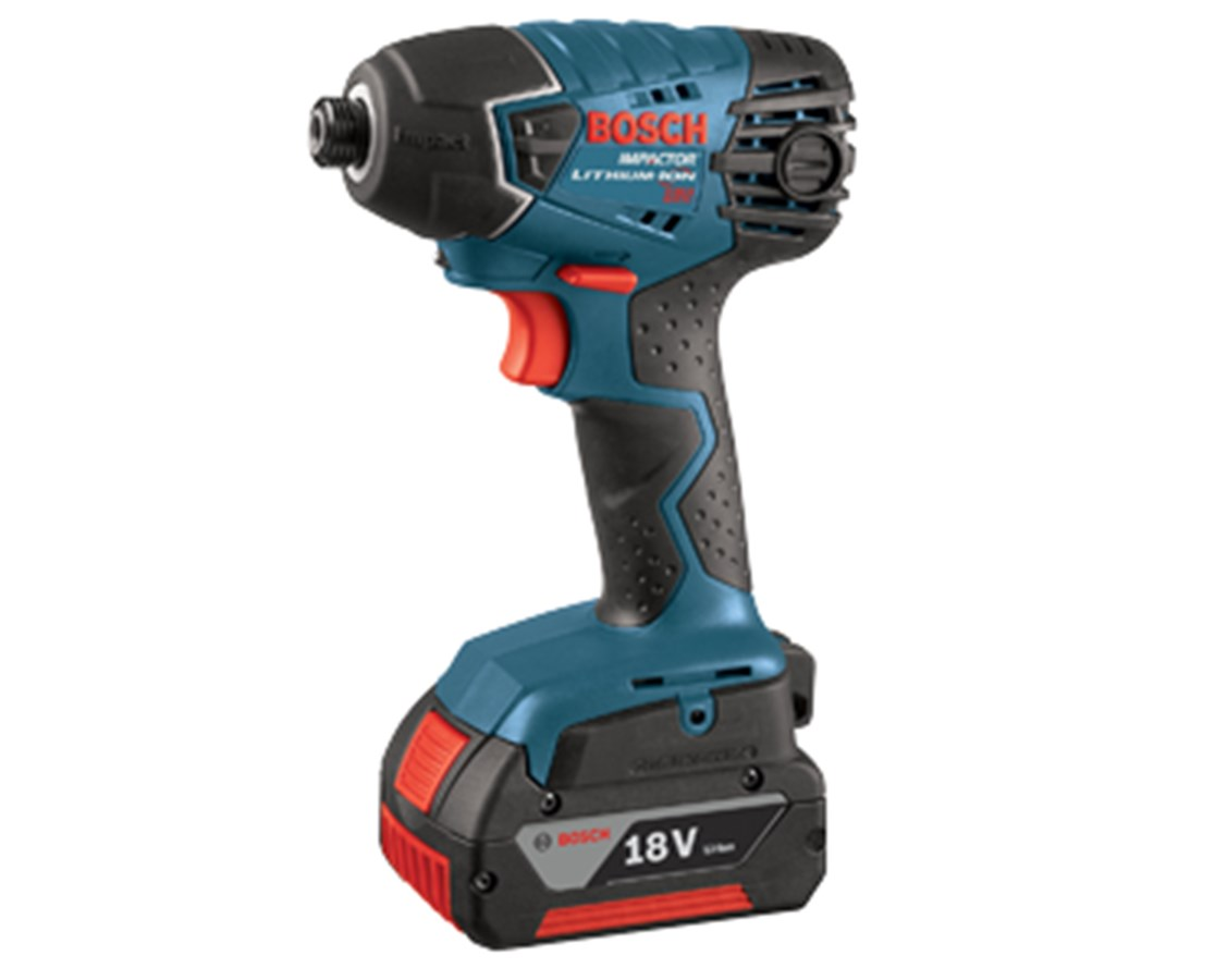 bosch 25618 01 18v lithium ion impact driver with 2 fat pack batteries tiger supplies. Black Bedroom Furniture Sets. Home Design Ideas