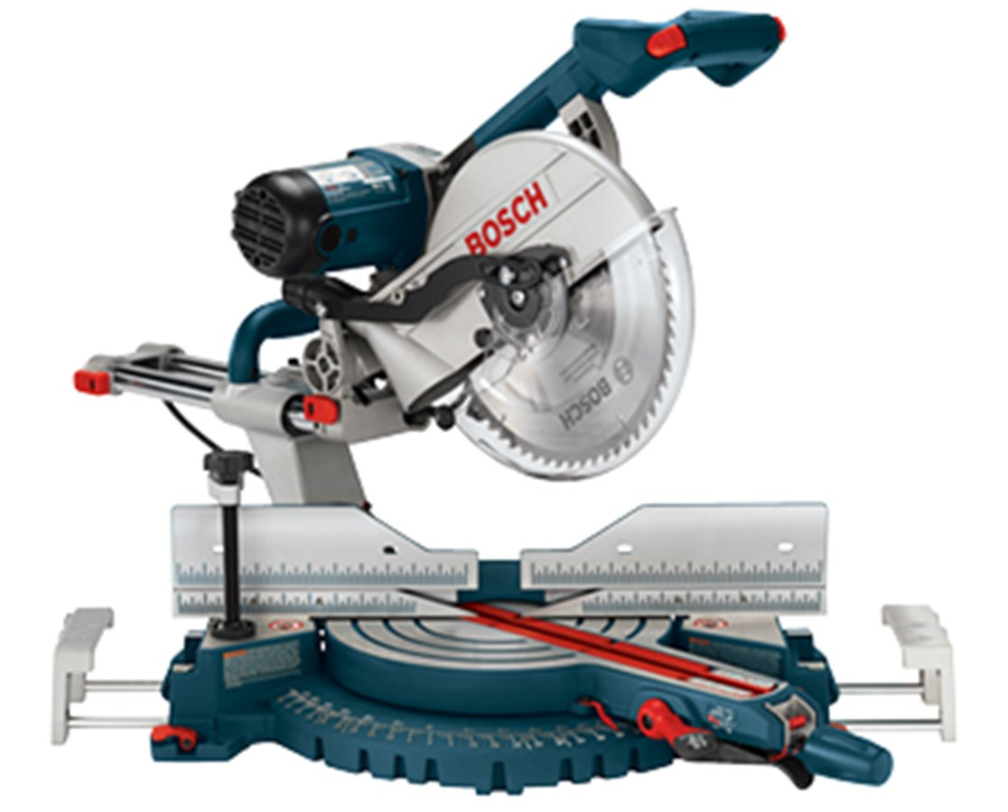 "Bosch 5312 12"" Dual-Bevel Slide Miter Saw with Upfront Controls BOS5312"