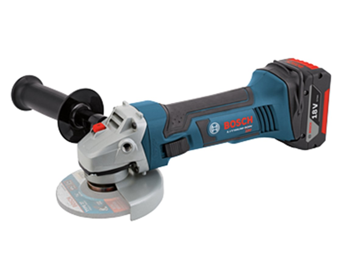 "Bosch CAG180B 18V Lithium-Ion 4-1/2"" Small Angle Grinder (Tool Only) BOSCAG180B"