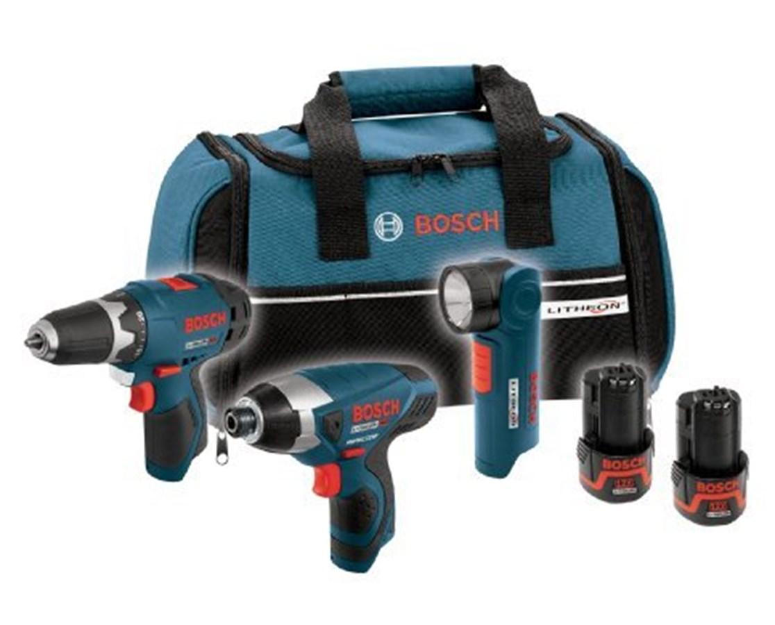 Bosch CLPK30-120 12V Max 3-tool Lithium-Ion Cordless Combo Kit BOSCLPK30-120